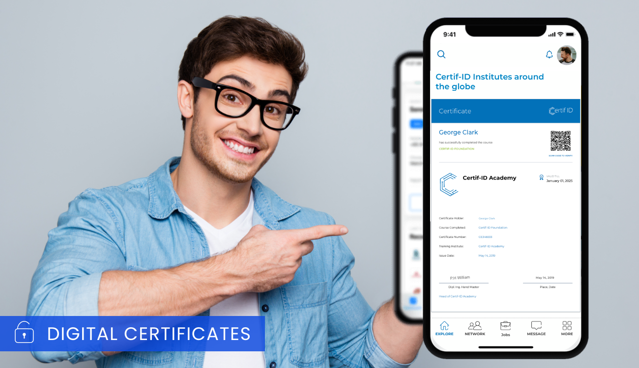 Certif-ID: Changing the Game - One Digital Certificate at a Time