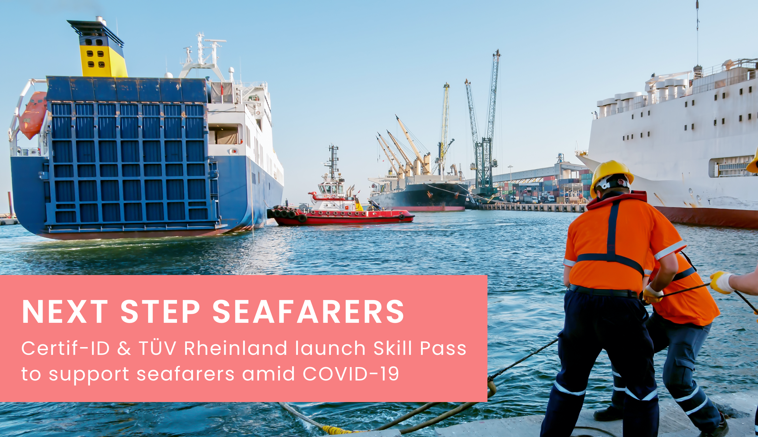 Skill Pass will connect Filipino seafarers with jobs globally, allowing them to create video CVs and build a digital portfolio to stand out and land jobs.