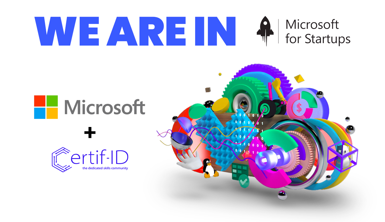 Microsoft for Startups Program chooses Certif-ID