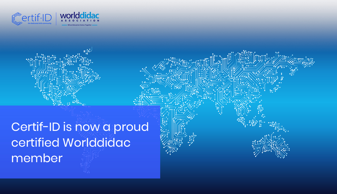 Certif-ID: now a proud Worlddidac Member