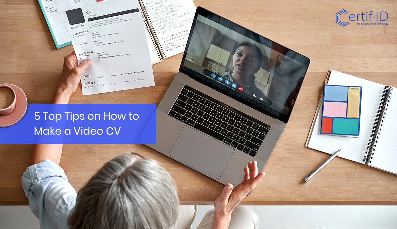 5 Top Tips on How to Create an Impactful Video CV